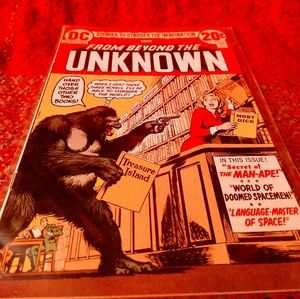 DC comic From Beyond The Unknown